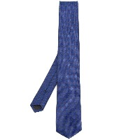Boss Hugo Boss patterned tie - ブルー