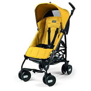 Peg Perego Pliko Mini Umbrella Strollers, Mod Yellow by Peg Perego