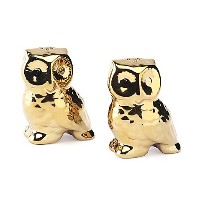 Studio TU OroフクロウSalt and Pepper Shakers