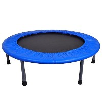 "36 "" Miniトランポリンジム回路More利便性と楽しいFitness Exercise Workout RebounderホームPerfect forすべてのフィットネスレベル"
