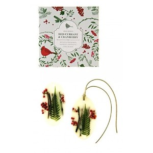 Rosy Rings Red Currant & Cranberry OvalワックスSachet