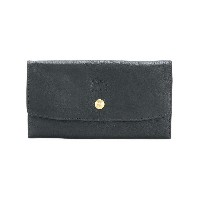 Il Bisonte embossed logo wallet - ブラック