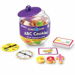 Learning Resources Goodie Games(TM) ABC Cookies おやつポット ABCクッキー LER 1183