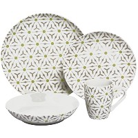 Melange Romance Coupe磁器Place Setting Serving for 4食器類、ホワイト 32-Piece (Serving for 8) ホワイト 71022891496...