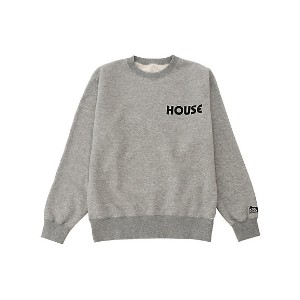 IN THE HOUSE  HOUSE SWEAT SHIRTS(Men's) グレー 【三越・伊勢丹/公式】 メンズウエア~~その他トップス