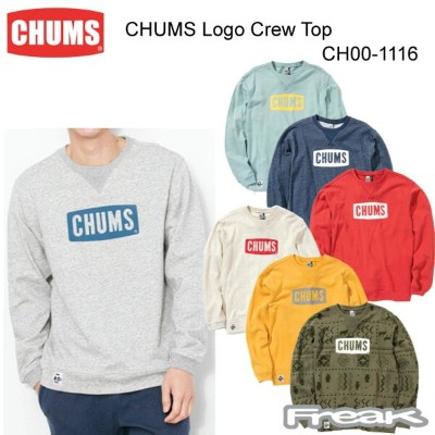 CHUMS チャムス CH00-1116 CHUMS Logo Crew Top チャムスロゴクルートップ(トップス/スウェット) ※取り寄せ品