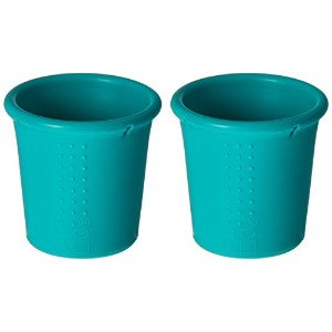 Silikids Siliskin Silicone Cups, Teal by Silikids