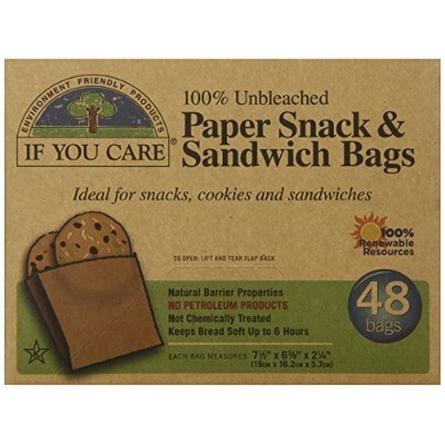 IF YOU CARE SANDWICH BAG, 48 PC by If You Care