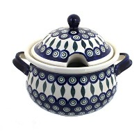 ポーランド食器Peacock Soup Tureen