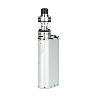 Eleaf iStick Melo 60W with Melo 4 TC Kit 4400mAh強力なvapingスターターキット(60W iStick Melo TCボックスMODと2ml Melo 4サブオムタンクを含む) … (Silver)