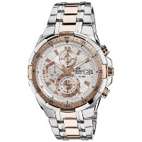 カシオ Casio Edifice Two Tone Stainless Mens WR100m Sports Watch EFR-539SG-7A5 女性 レディース 腕時計 【並行輸入品】