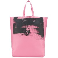 Calvin Klein 205W39nyc photo print tote bag - ピンク&パープル