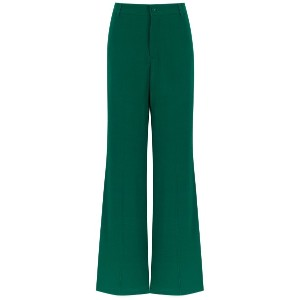 Reinaldo Lourenço flared trousers - グリーン