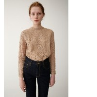 HIGH NECK LACE TOP【マウジー/MOUSSY レディス その他(トップス) L/BEG ルミネ LUMINE】