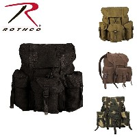 ROTHCO ロスコ即納CANVAS G.I. STYLE SOFT PACK バックパック リュック キャンバス生地ミリタリーバッグ 米軍 ブランド 海外買い付けインポートブランド海外買い付けインポ...