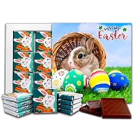 """DAチョコレートギフトセットHappy EASTER Candy Souvenir 5x5 """"1 box (Bunny)"""