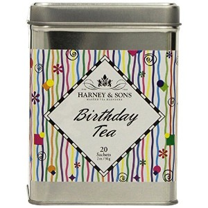 Harney and Sons Birthday Tea Tin, 20 Sachets by Harney & Sons