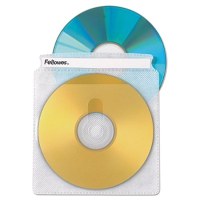 FELLOWES SOFTWORKS 25CD SLEEVES 90661