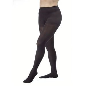 Women's Ultrasheer 30-40 mmHg Extra Firm Support Pantyhose Size: Medium, Color: Classic Black by...