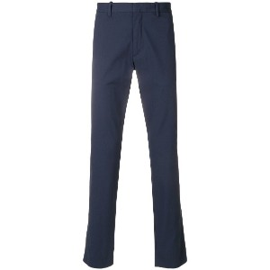 Theory slim-fit trousers - ブルー