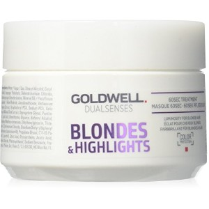 ゴールドウェル Dual Senses Blondes & Highlights 60Sec Treatment (Luminosity For Blonde Hair) 200ml