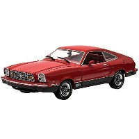 1976Ford Mustang II MachハードトップDie CastモデルLimited Edition Pony車