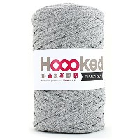 DMC Hoooked RIBBONXL 手編み用コットン #801/41 LIGHT GREY