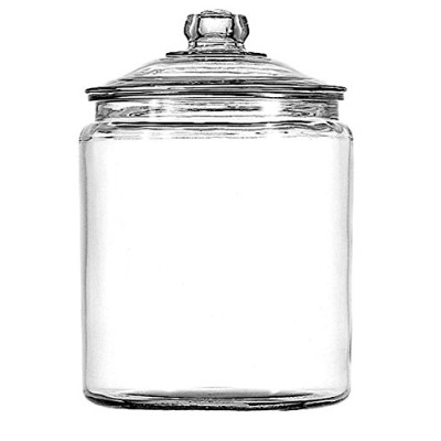 Anchor Hocking 1-Gallon Heritage Hill Jar with Lid, Set of 2 by Anchor Hocking