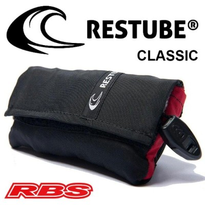 RESTUBE (レスチューブ) Classic (クラシック) Coral Red 日本正規品 送料無料 【水難 水害 救命 救助 災害 防災 レスキュー 事故防止 浮輪】