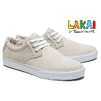 【LAKAI】DALY  Porous Walker Collection カラー:white suede 【ラカイ】【スケートボード】【シューズ】
