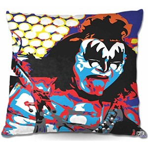 "Decorative Wovenソファスロー枕DiaNoche by Ty Jeter Unique寝室、リビングルーム、バスルームアイデアGene Simmons 18"" x 18""..."