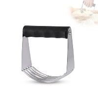 Pastry Blender,Stainless Steel Pastry Cutter Dough Blender Top Professional Baking Dough Cutter for...