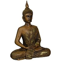 Oriental Furniture 11 Thai Sitting Buddha Statue by ORIENTAL FURNITURE
