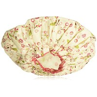 Spa Sister Bouffant Shower Cap Olive Leaves by Spa Sister