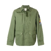 Zadig & Voltaire embroided military Kido Brodé Parka - グリーン