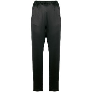 Forte Forte cropped skinny trousers - ブラック