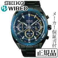SEIKO ワイアード WIRED SOLIDITY ソリディティ 男性用 多針アナログ 腕時計 正規品 1年保証書付 AGAW446