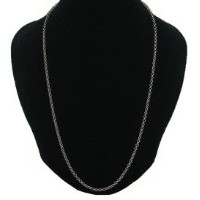 CHROME HEARTS ROLL CHAIN NECKLACE SILVER 22inch クロムハーツ ロールチェーン ネックレス 22インチ