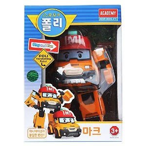 Robocar Poli - mark Transformers Robot Car Toys 韓国のTVアニメ [並行輸入品]
