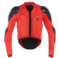 DAINESE(ダイネーゼ) SCARABEO SAFETY JACKET 3879699 BLACK/RED JM