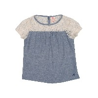 AMERICAN OUTFITTERS ブラウス ブルーグレー