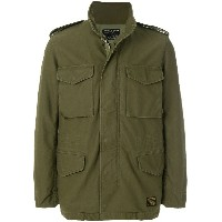 Wacko Maria cargo pocket military jacket - グリーン