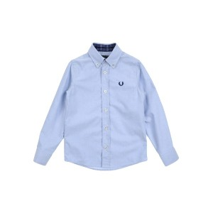 FRED PERRY シャツ アジュールブルー