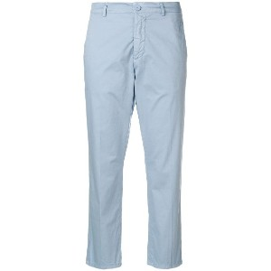 Dondup cropped trousers - ブルー