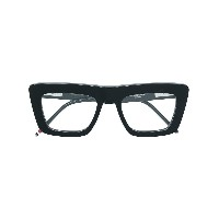 Thom Browne Eyewear square glasses - ブラック