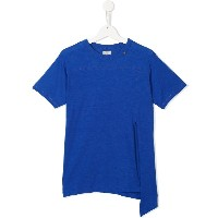 Go To Hollywood asymmetric style T-shirt - ブルー