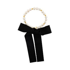 Magda Butrym pearl and gold necklace - ホワイト