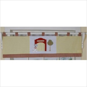 GEENNY Window Valance, Boutique Fire Truck by GEENNY