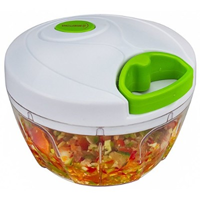 Brieftons QuickPull Food Chopper :強力なHand Held Vegetable Chopper / Mincer / Blender to Chopフルーツ、野菜...