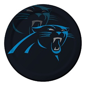 Creative Converting 96-count Carolina Panthers Paper Dinner Plates